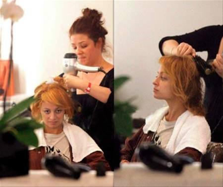 Nicole peluquera